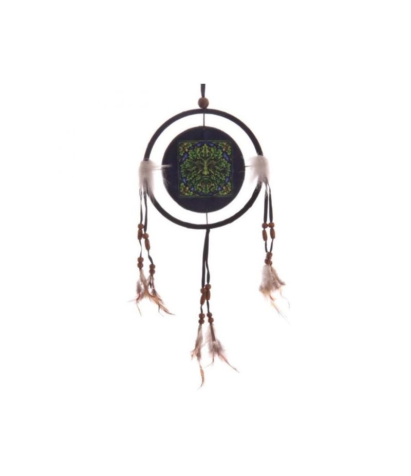 Acchiappasogni 16 cm Uomo Verde Spirit of the Forest by Lisa Parker