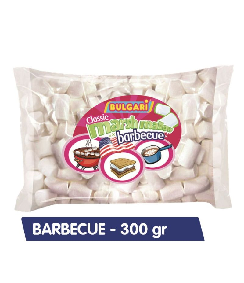 MARSHMALLOW Bulgari per BARBECUE gr 300