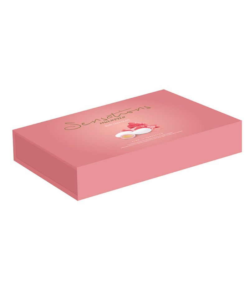 CONFETTI MAXTRIS SENSATION RUBY CHOCOLATE ciocomandorla 500GR
