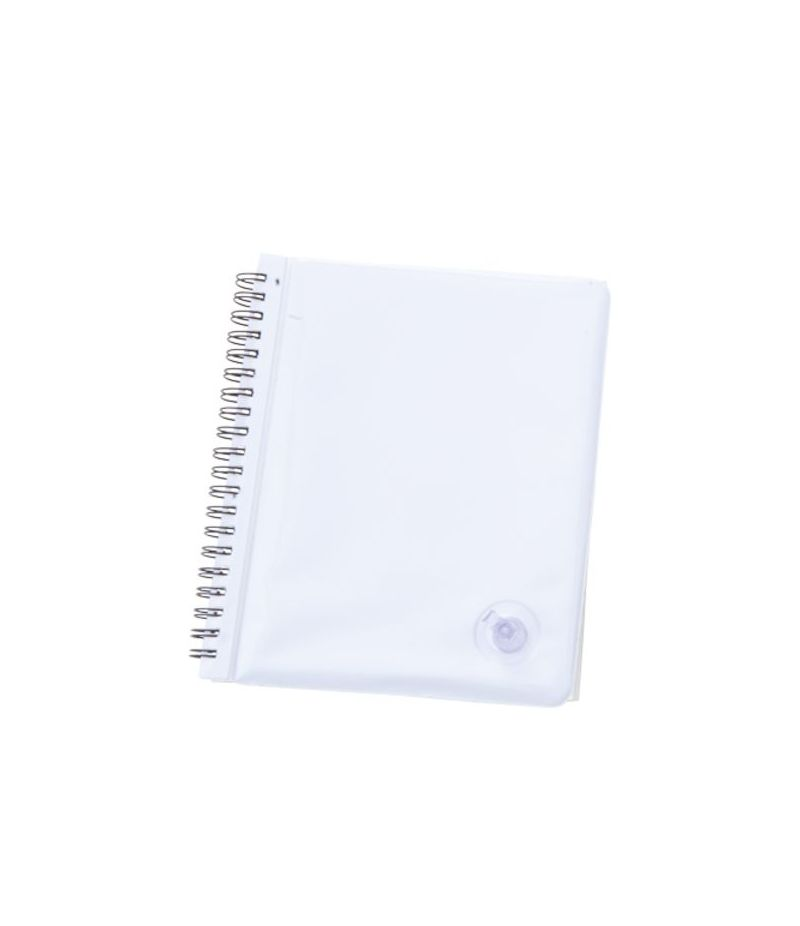 blocco quaderno block notes con copertina a cuscino gonfiabile