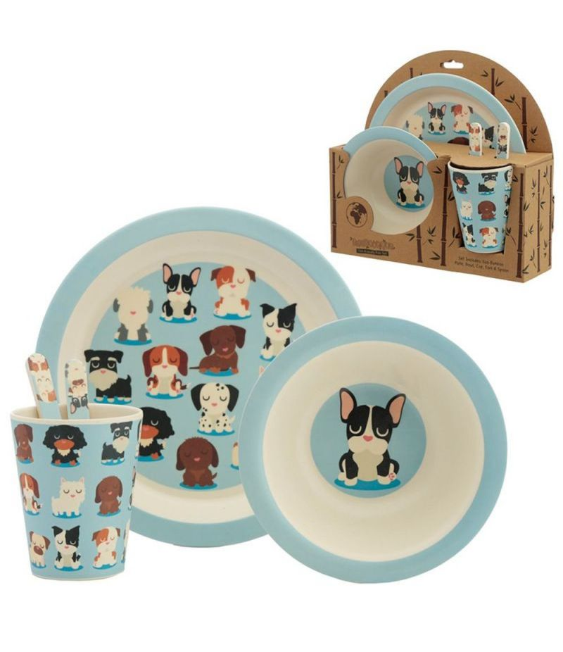 Set Pappa in Bambù Eco-Friendly - Cani - Dog Squad