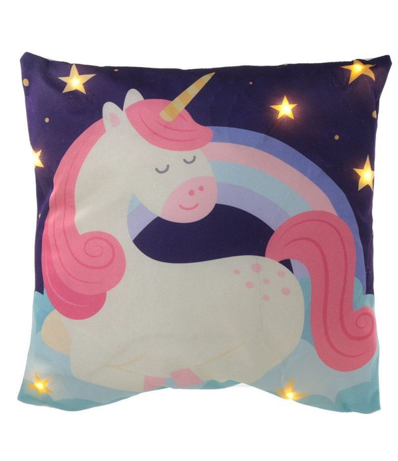 Cuscino con luce lED design UNICORNO ARCOLABENO Sweet dreams