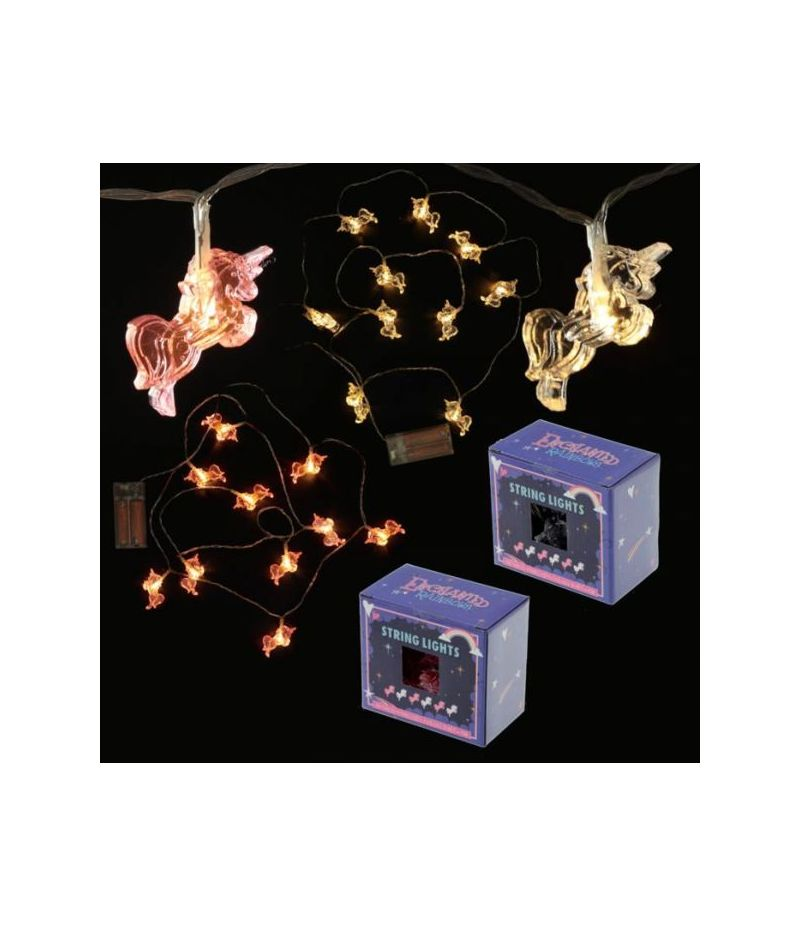 Filo Luminoso Decorativo - Unicorno - 10 Luci