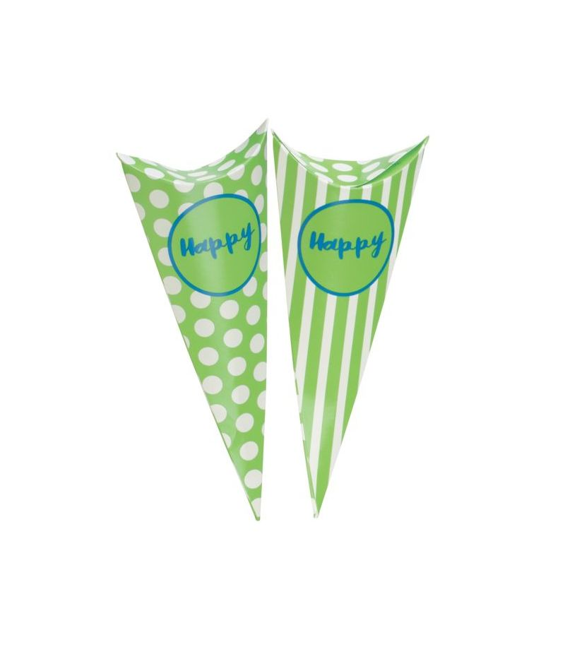 Cono Party VERDE portadolci porta caramelle linea HAPPY