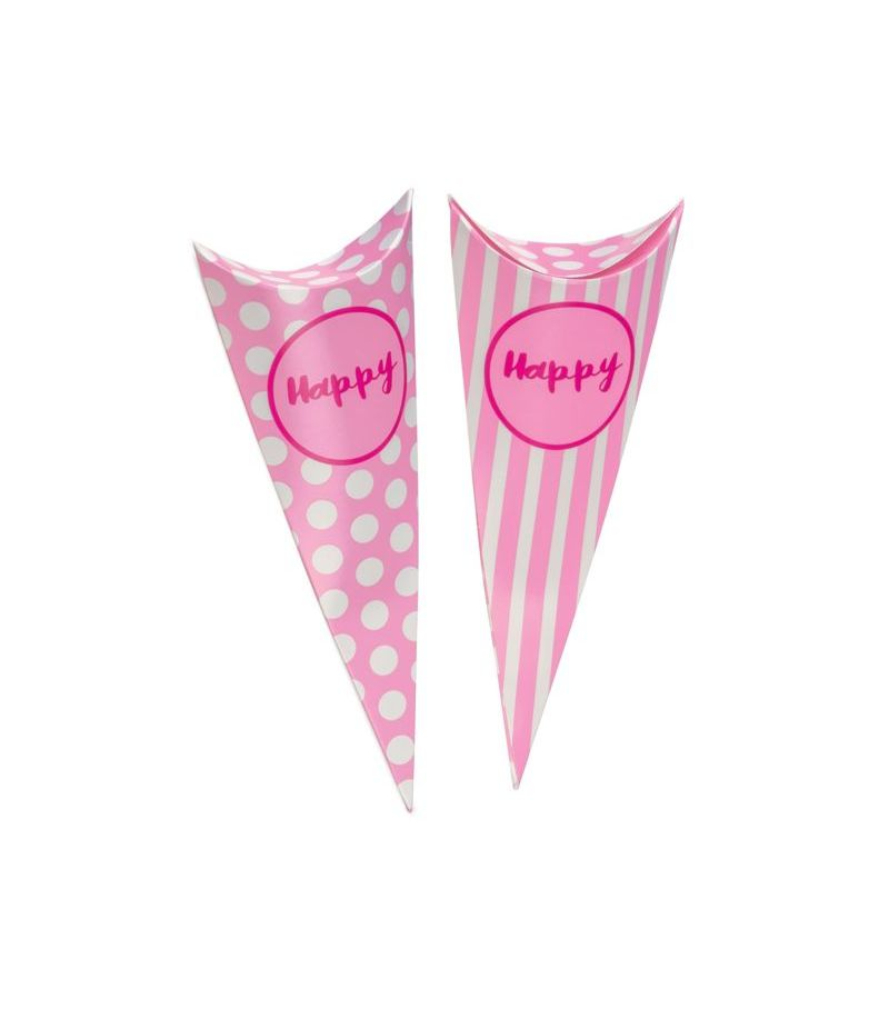 Cono Party ROSA porta caramelle Linea Happy