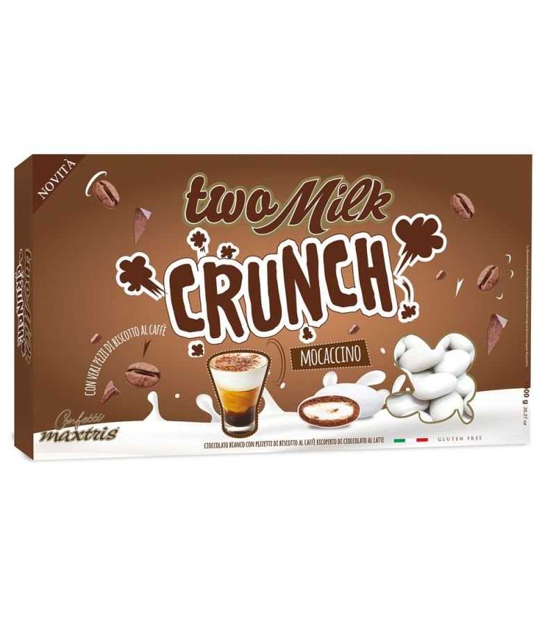 CONFETTI MAXTRIS two milk crunch MOCACCINO 1 KG