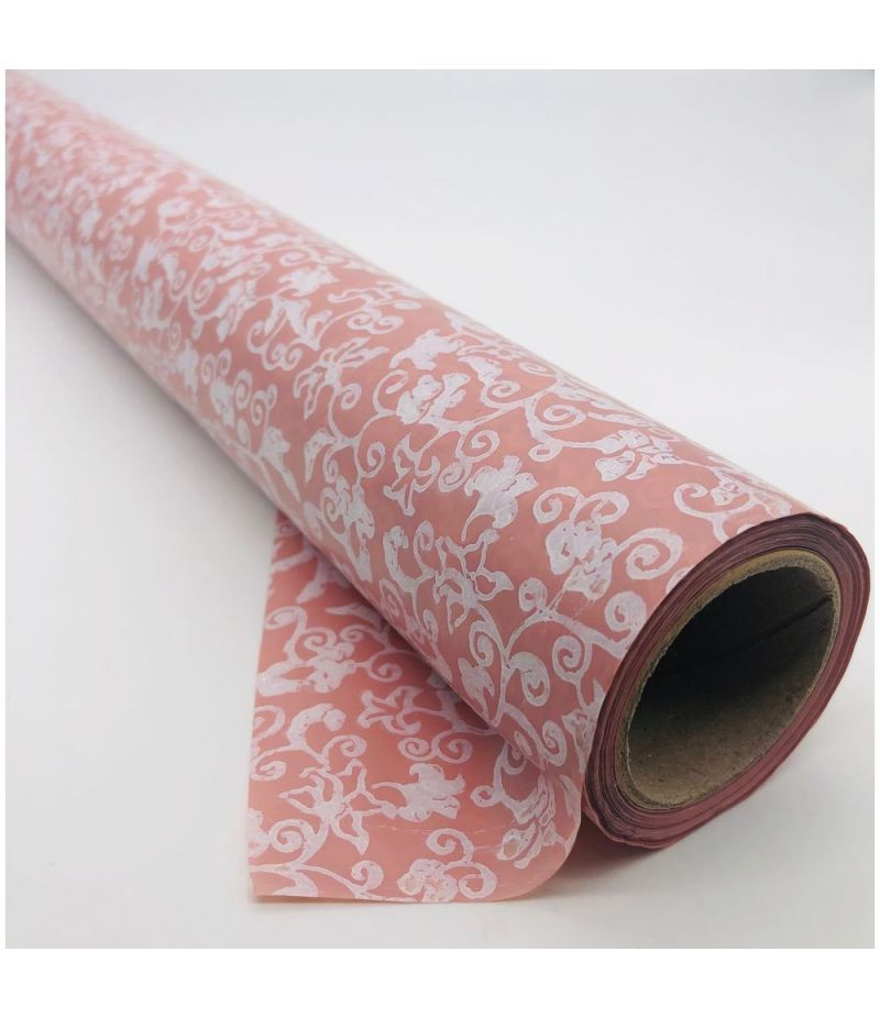 Rotolo Carta Cellophane VIVID HD ROSA ANTICO 60 cm x 20 metri
