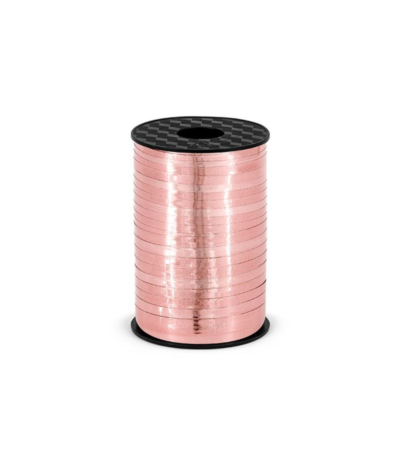 Nastro in plastica ROSA GOLD 5 mm x 225 metri