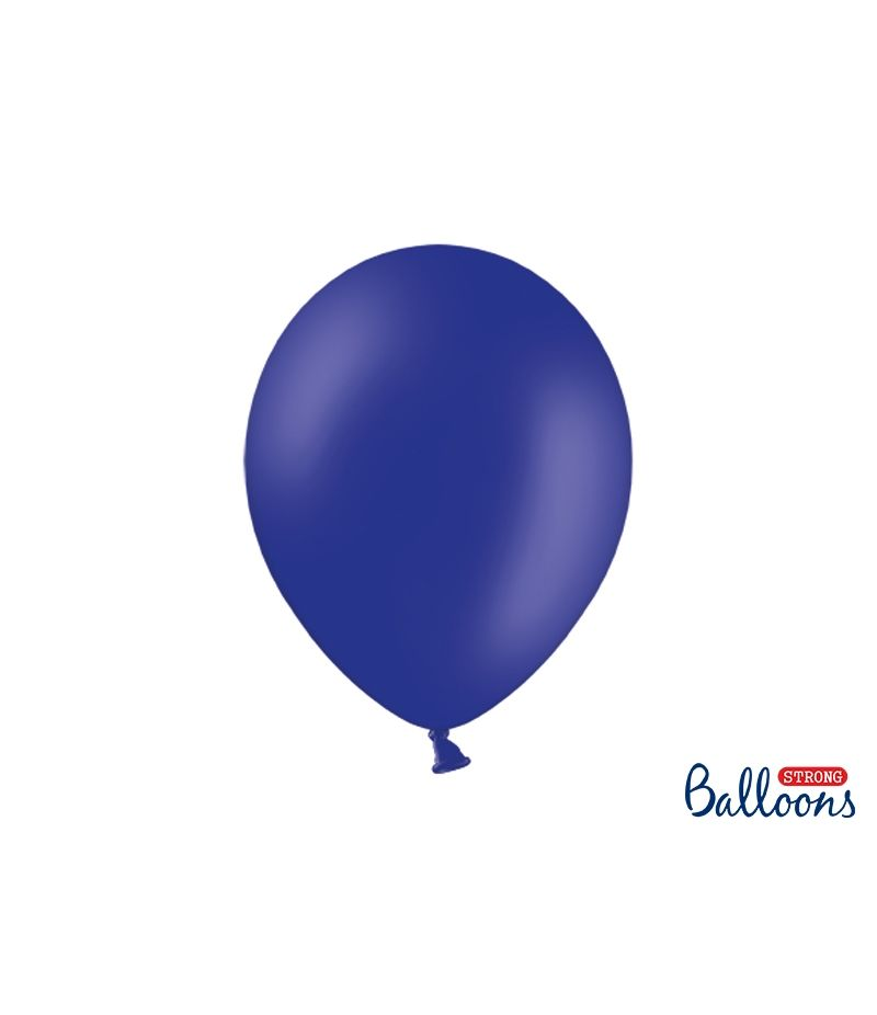 10 PZ Palloncini Palloncino Lattice 30 cm BLU ROYAL pastello