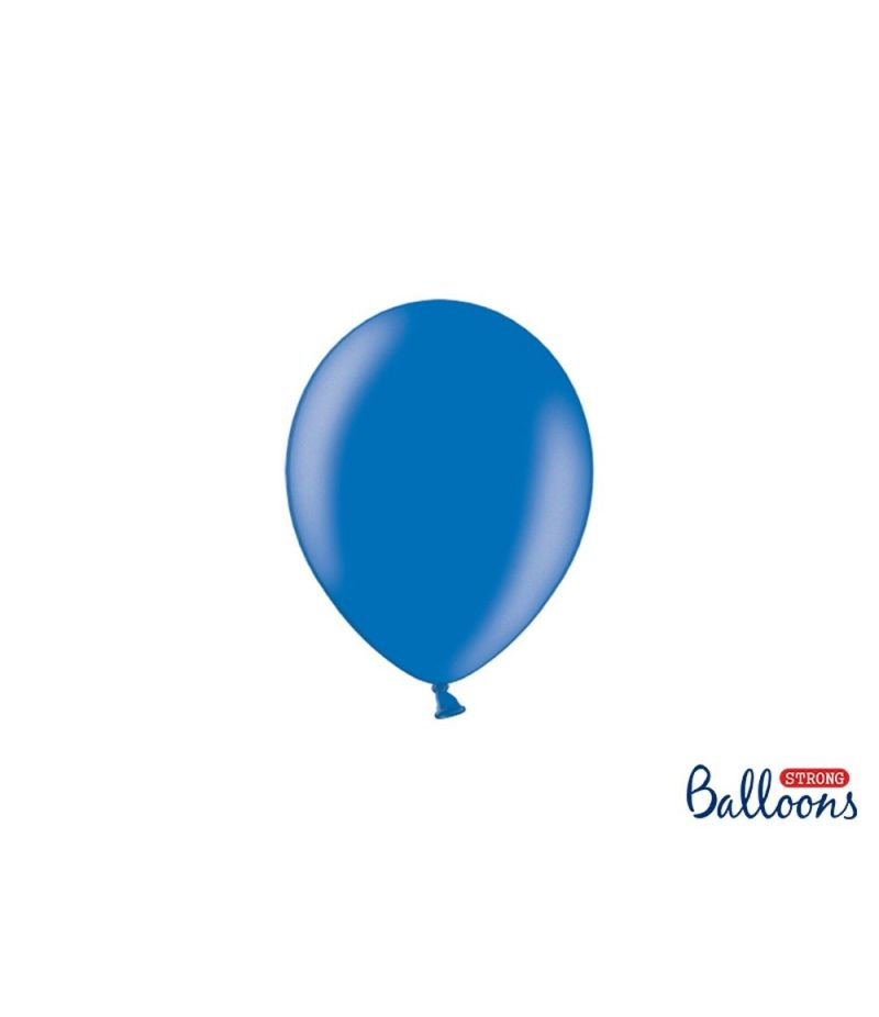 100 PZ Palloncino Palloncini Lattice 12 cm BLU metallic